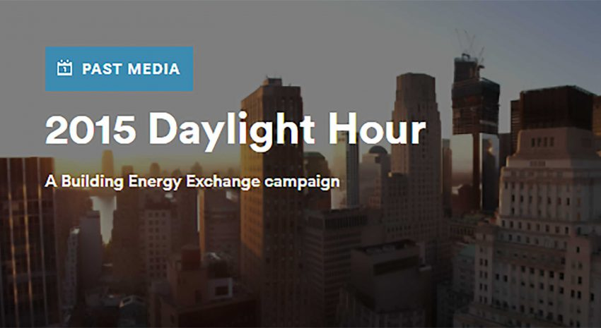 2015 Daylight Hour