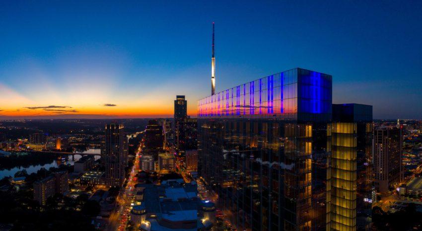 Fairmont Austin_sunset-evening